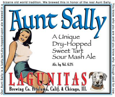 lagunitas aunt sally