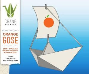 crane orange gose