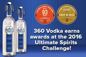 360 Vodka Awards