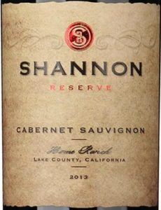 Shannon ridge cabernet