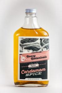 Boozy botanicals cardamom