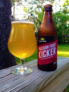GREEN FLASH passion fruit kicker