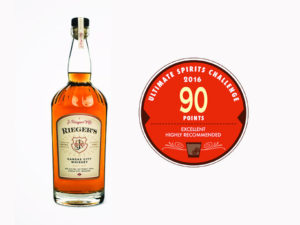 rieger whiskey award